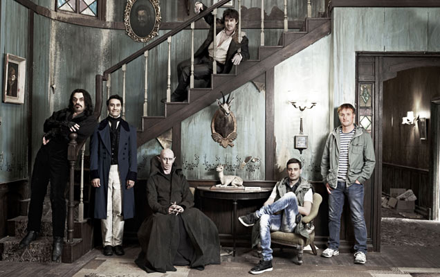 The cast of 'What We Do In The Shadows'