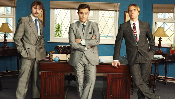James Buckley, Ed Westwick and Joe Thomas star in 'White Gold'