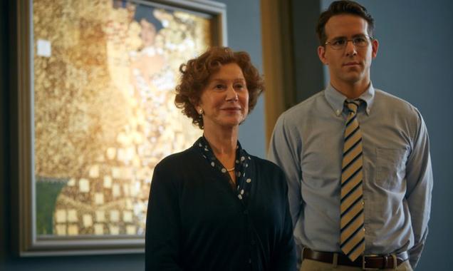 Helen Mirren and Ryan Reynolds in 'Woman In Gold'