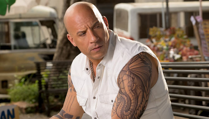 Vin Diesel leads the cast in XXX: The Return Of Xander Cage