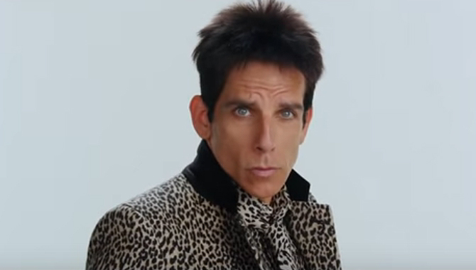 Ben Stiller in Zoolander 2 trailer