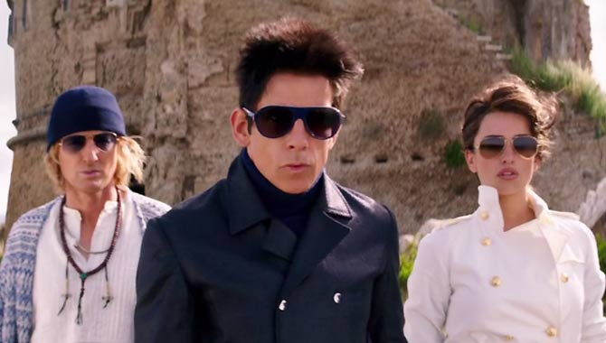 Owen Wilson, Ben Stiller and Penelope Cruz in Zoolander 2