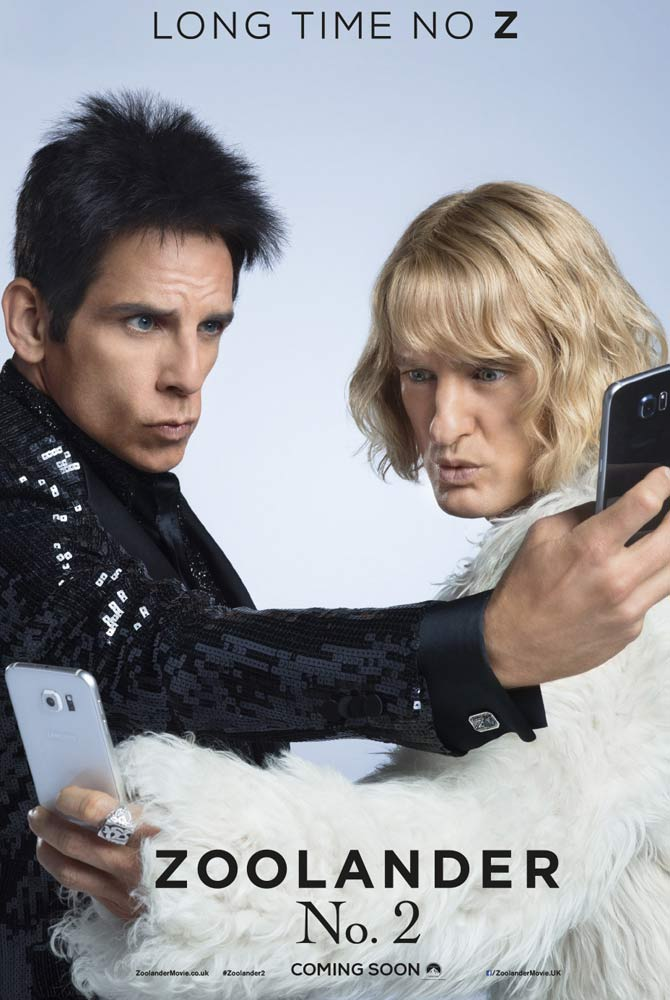 'Zoolander 2' selfie poster