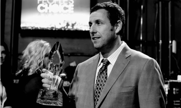 Adam Sandler at the 41st People's Choice Awards (Credit Frazer Harrison - Getty Images)