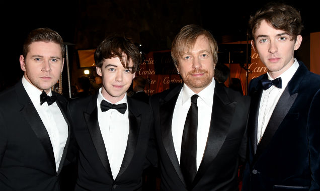 Allen Leech, Alex Lawther, Morten Tyldum and Matthew Beard