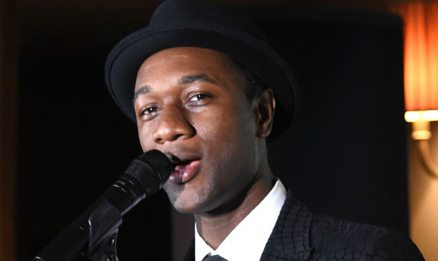 Aloe Blacc at the 8th Annual Hollywood Domino Gala, in Los Angeles (Credit Jason Merritt - Getty Images)