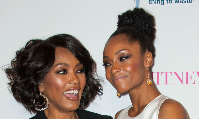 Angela Bassett and Yaya DaCosta at the 'Whitney' premiere (credit Valerie Macon - Getty Images)