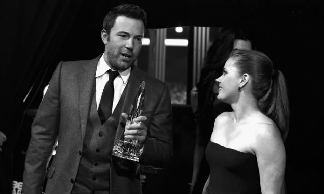 Ben Affleck and Amy Adams at the 41st People's Choice Awards (Credit Frazer Harrison - Getty Images)