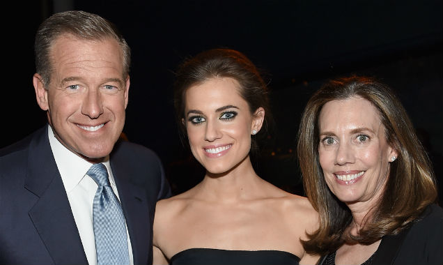 Brian Williams, Allison Willams and Jane Stoddard Williams at the 'Girls' season four premiere (Credit Jamie McCarthy - Getty Images)