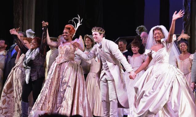 Broadway's Cinderella cast