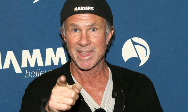 Chad Smith at the NAMM 2015 (Credit Jesse Grant - Getty Images)