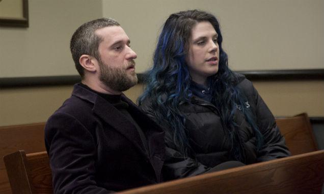 Dustin Diamond and Amanda Schutz