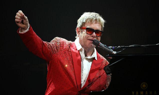 Elton John at New Year's Rockin' Eve 2015