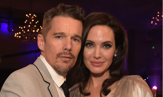 Ethan Hawke and Angelina Jolie at the 20th Critic's Choice Awards (Credit Jason Kempin - Getty Images)