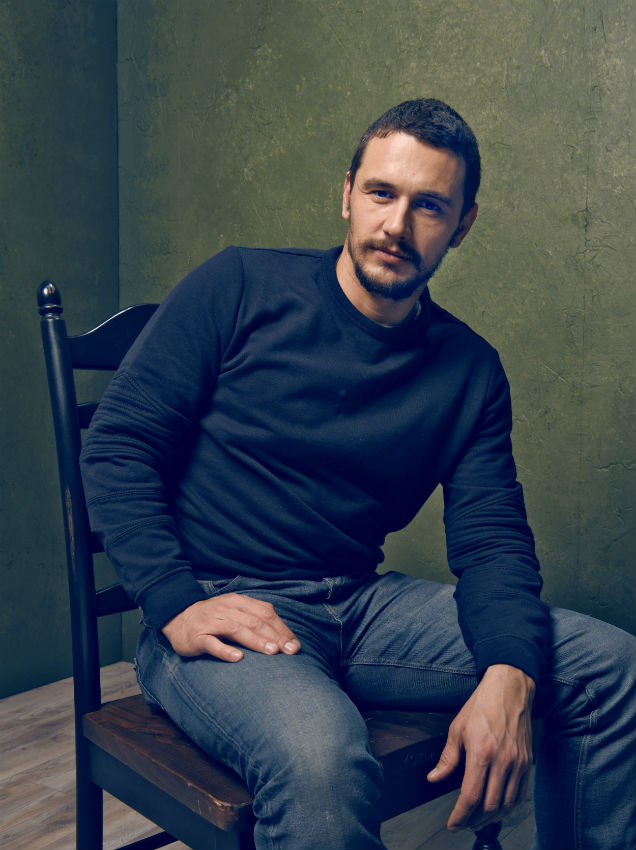 James Franco at The Sundance Film Festival, 2015 (Credit: Larry Busacca - Getty Images)