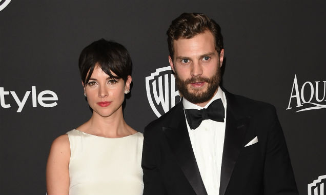 Jamie Dornan sports wonderful beard at the Golden Globes