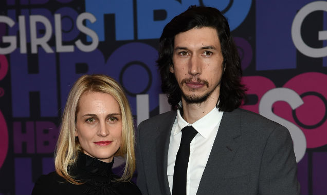 Joanne Tucker and Adam Driver at the 'Girls' season four premiere (Credit Jamie McCarthy - Getty Images)