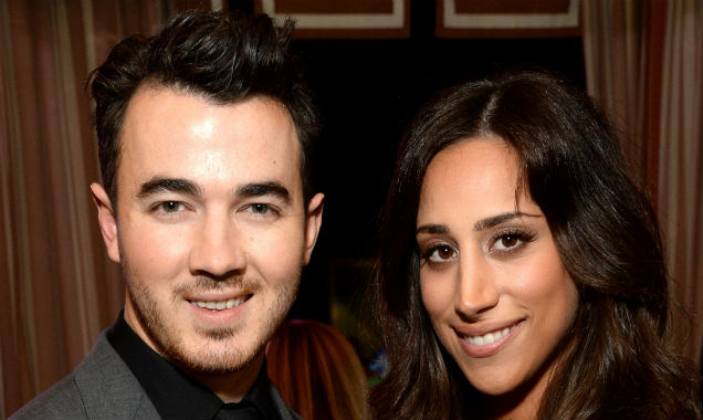 Kevin and Danielle Jonas at the 8th Annual Hollywood Domino Gala, in Los Angeles (Credit Michael Kovac - Getty Images)