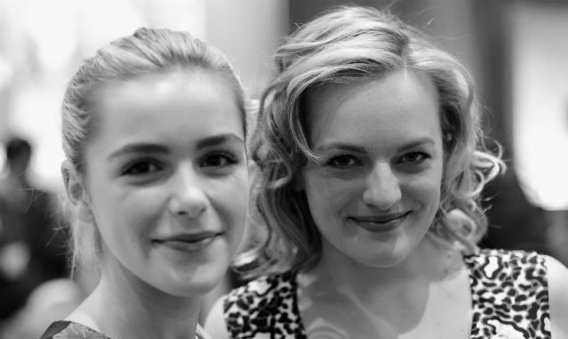 Kiernan Shipka and Elisabeth Moss from 'Mad Men' (Credit Frazer Harrison - Getty Images)