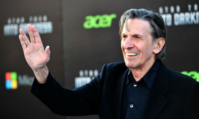 Leonard Nimoy at 'Star Trek Into Darkness' premiere