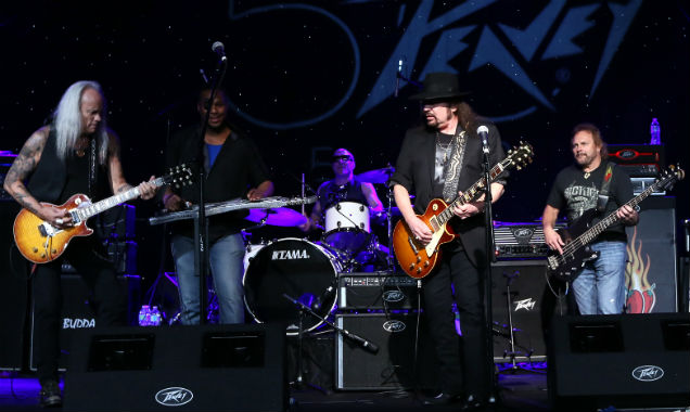 Lynyrd Skynyrd performing at the NAMM (Credit Jesse Grant - Getty Images)