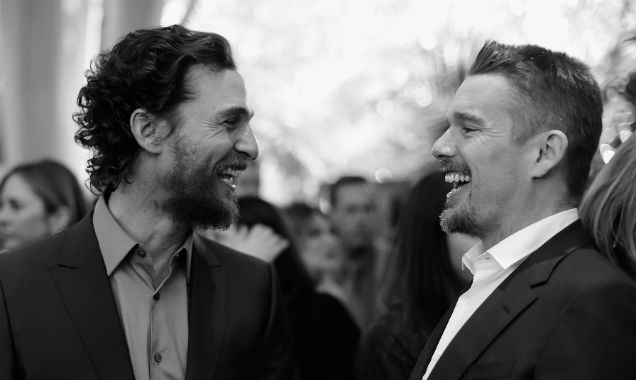 Matthew McConaughey and Ethan Hawke at the 15th Annual AFI Awards (Credit Frazer Harrison - Getty Images)