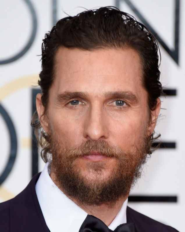 Matthew McConaughey at the 2015 Golden Globes