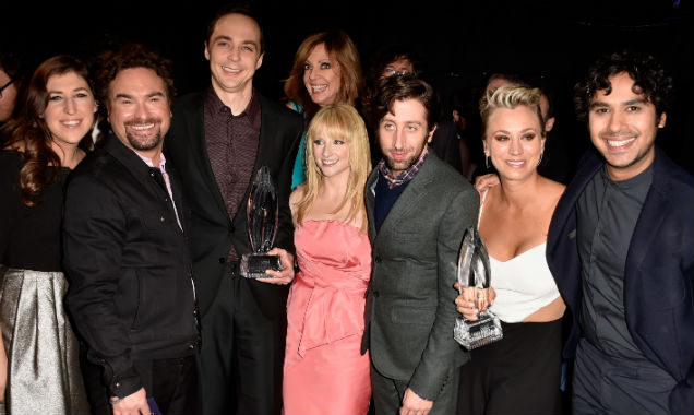 The Cast of 'The Big Bang Theory' at the 41st People's Choice Awards (Credit Frazer Harrison - Getty Images)