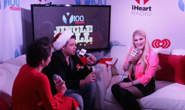 Meghan Trainor at Y100's Jingle Ball 2014