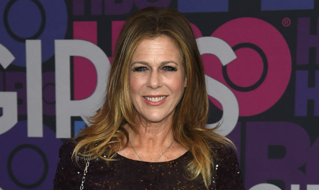 Rita Wilson poses at the premiere for 'Girls' season four (Credit Jamie McCarthy - Getty Images)