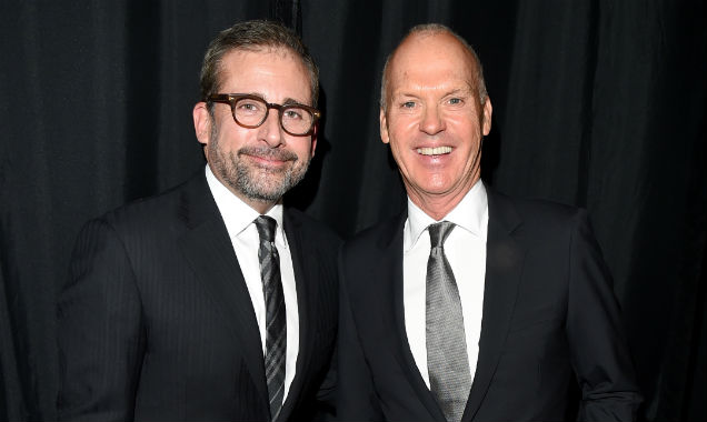 Steve Carell and Michael Keaton