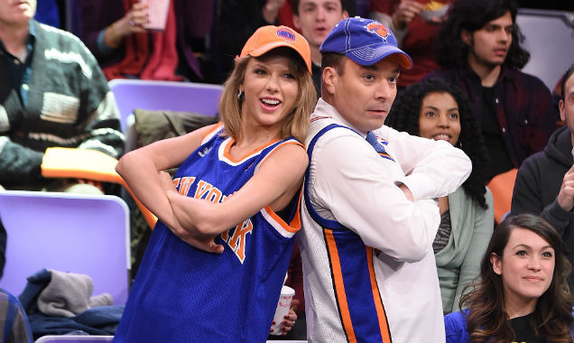 Taylor Swift and Jimmy Fallon on 'The Tonight Show' 1