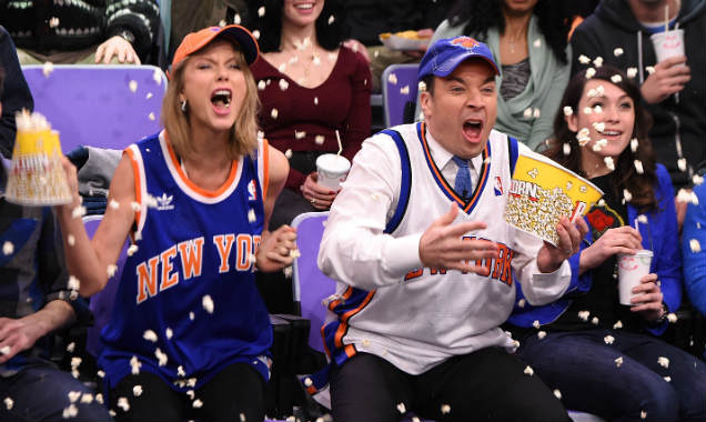 Taylor Swift and Jimmy Fallon on 'The Tonight Show' 3