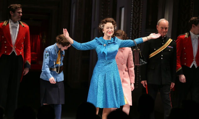 Helen Mirren and the cast of 'The Audience'