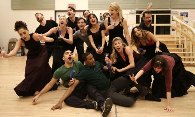 Vanessa Hudgens and co-stars at 'Gigi' preview
