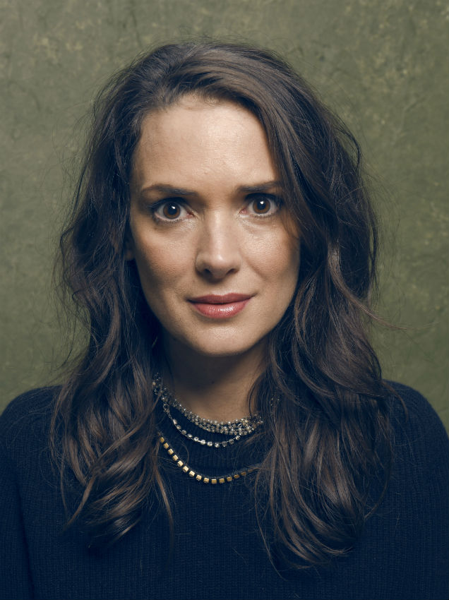 Winona Ryder at The Sundance Film Festival, 2015 (Credit: Larry Busacca - Getty Images)