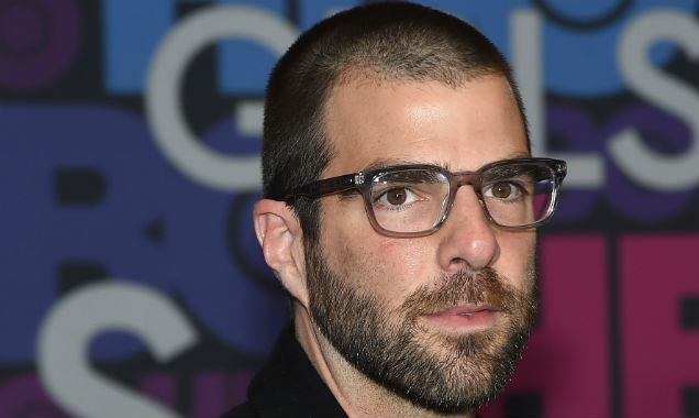 Zachary Quinto arrives at the 'Girls' season four premiere (Credit Jamie McCarthy - Getty Images)