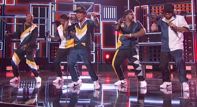 Bruno Mars - 24K Magic [American Music Awards Performance] Video Video