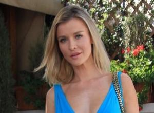 Joanna Krupa Wears Only Body Paint In PETA's Boycott SeaWorld Campaign