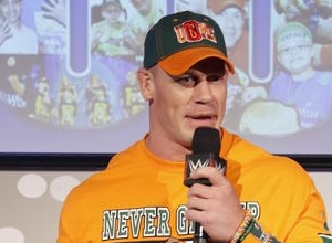 Ouch! John Cena Gets His Revenge On John Stewart With An AA On 'Monday Night Raw'