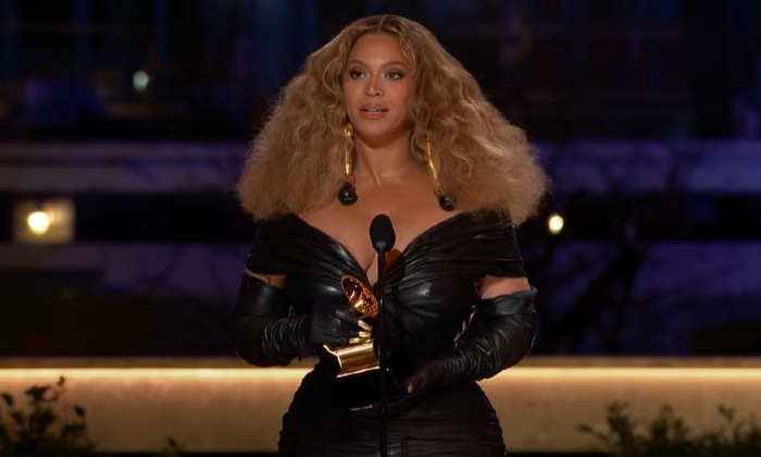 The Grammy Awards 2021: Beyoncé  Wins Four But Sir Elton John Might Still Hit Someone