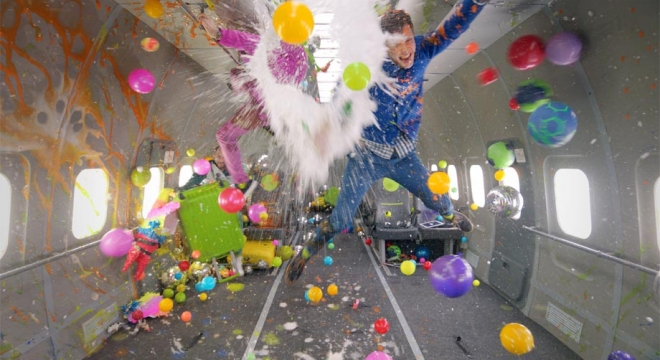 OK Go - Upside Down & Inside Out Video Video