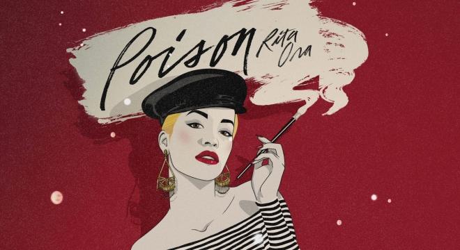 Rita Ora - Poison [Lyric] Video