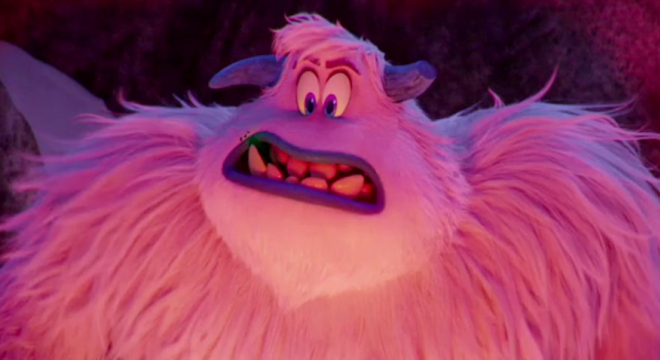 Channing Tatum as Migo the Yeti in Smallfoot