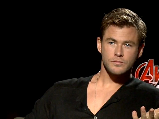 Chris Hemsworth And Chris Evans Avengers: Age of Ultron Video Interview
