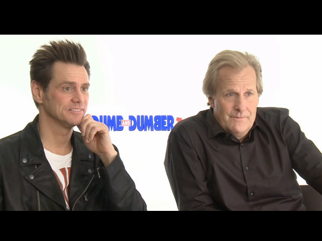 Jim Carrey & Jeff Daniels - Dumb And Dumber To Interview