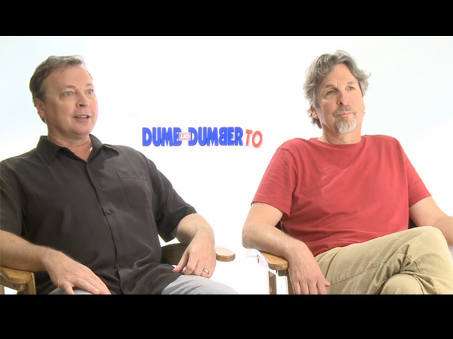 Peter & Bobby Farrelly - Dumb And Dumber To Interview