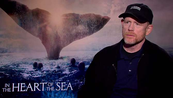 Ron Howard - In The Heart Of The Sea Interview