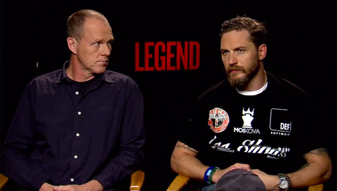 Tom Hardy And Brian Helgeland - Legend Video Interview
