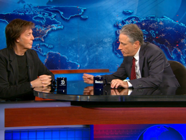 Paul McCartney - The Daily Show Clips